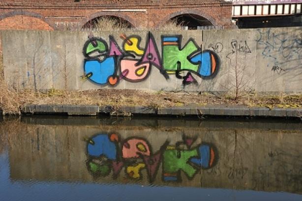 Canal Graffitti 5